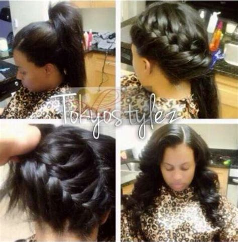 short vixen sew in 98 best sew in hair styles images on pinterest