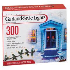 garland style lights garland style lights 300 count clear oogalights com