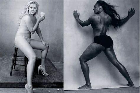 Serena Williams Calendã Pirelli Serena Williams And Schumer Pose For Pirelli As Their