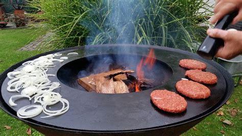 grillen über feuerschale avontuurlijk grillen bakken met the grillring te koop