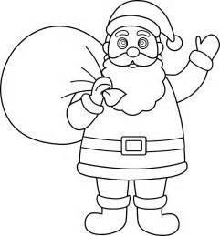 santa claus pictures to color printable santa claus coloring pages coloring me