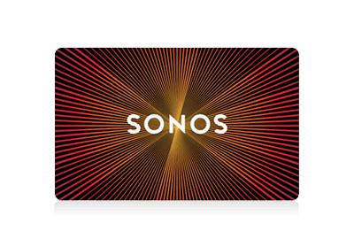 Sonos Gift Card - shop all products sonos