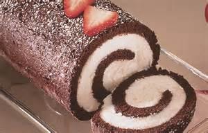 chocolate roll cake food recipes