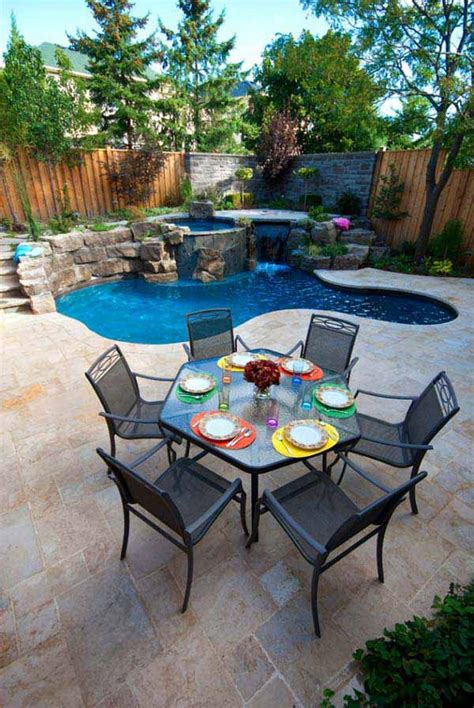 Pool In Small Backyard 25 Fabulous Small Backyard Designs With Swimming Pool Architecture Design