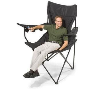 folding cing chair with attached table this folding chair has 6 cup holders