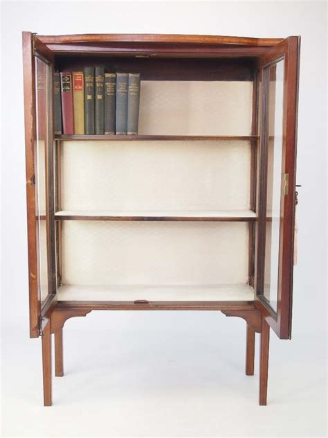 small display cabinet mahogany indonesia furniture small edwardian mahogany bookcase display cabinet