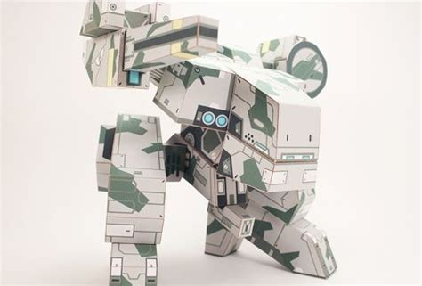 Metal Gear Papercraft - metal gear papercraftsquare free papercraft
