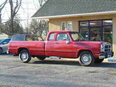 how to learn about cars 1993 dodge d250 club parking system sell used 1993 dodge d250 pickup 5 9 cummins 12 valve 1 owner clean carfax only 60k miles in