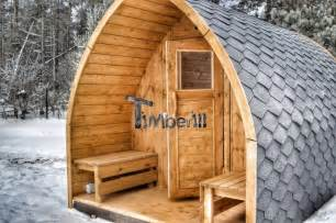 sauna exterieur design saunas ext 233 rieur igloo timberin