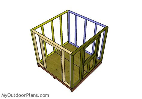 8x8 small garden shed plans myoutdoorplans free