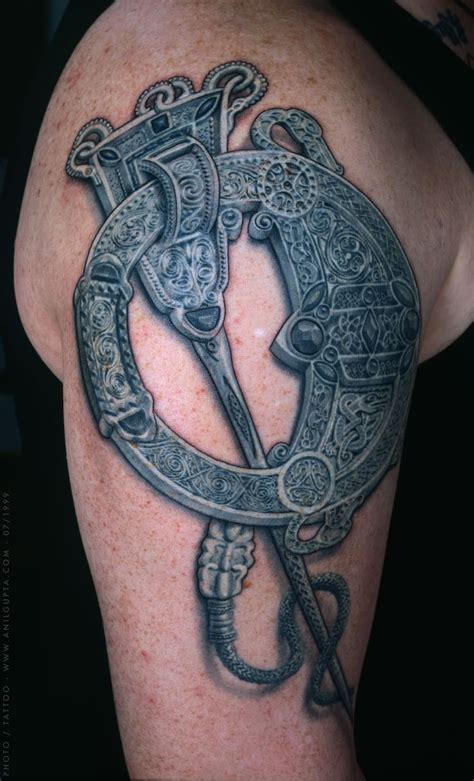 gaelic tattoo celtic tattoos tatto style