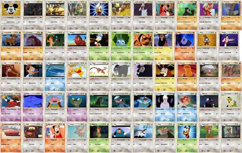 Disney Gift Card Where To Buy - disney pokemon cards by mryoshi1996 on deviantart