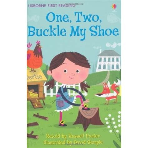 one two buckle my shoe usborne first reading english