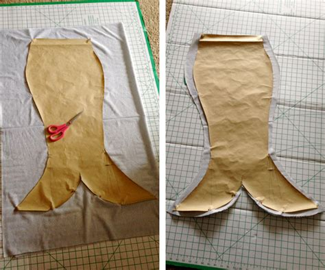 pattern for sewing a mermaid tail a pirate a diy mermaid costume tutorial