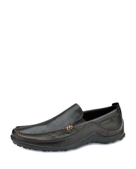 cole haan tucker venetian loafers cole haan tucker venetian loafer in black for lyst