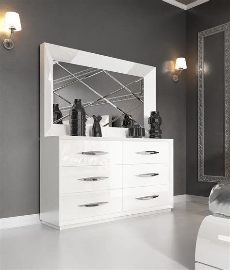 white modern bedroom dressers astonishing white modern dressers design