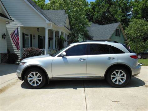 how to sell used cars 2006 infiniti fx electronic valve timing sell used 2006 infiniti fx35 loaded sport utility 4 door 3 5l in atlanta georgia united states