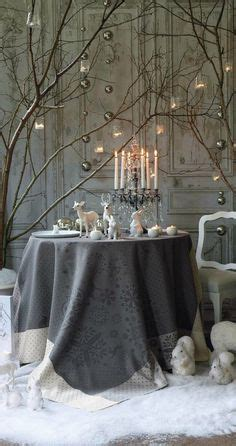 Come With Me Winter Dinner Decorations by Winter Ideas On White