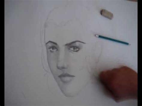 imagenes para dibujar a lapiz rostros pasos para dibujar un rostro a lapiz imagui