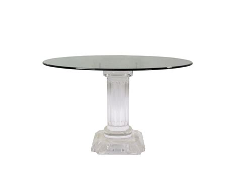 Rome Acrylic Dining Table   KDRShowrooms.com