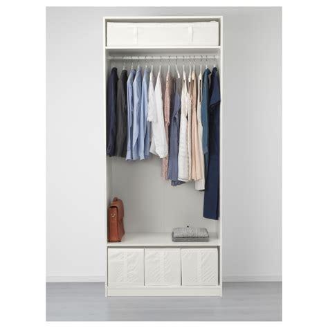 pax wardrobe white flisberget light beige 100x60x236 cm ikea