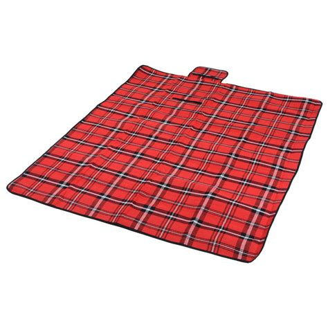 tartan picnic rug waterproof tartan folding waterproof acrylic picnic blanket rug free shipping