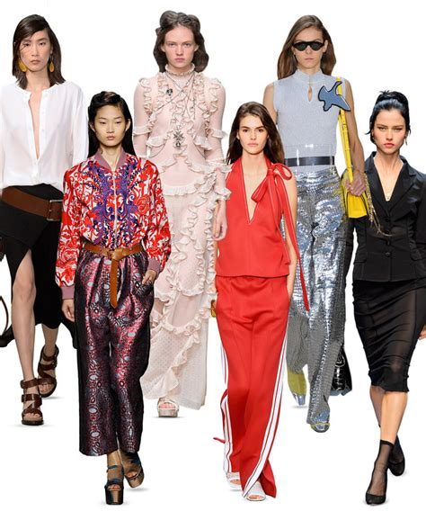News Stylecom Trend Report For 2007 by The Top 2016 Fashion Trends Instyle