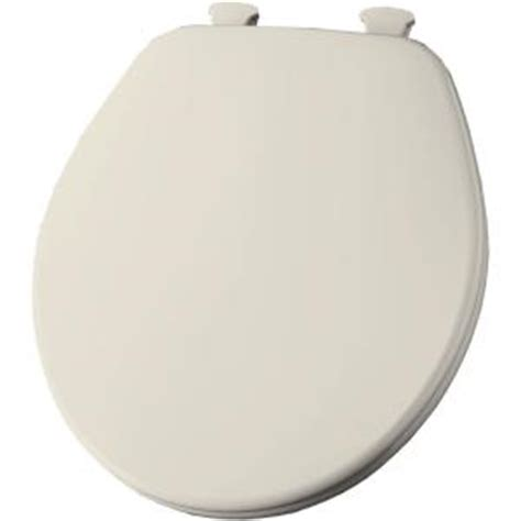 church closed front toilet seat in biscuit 540ec 346