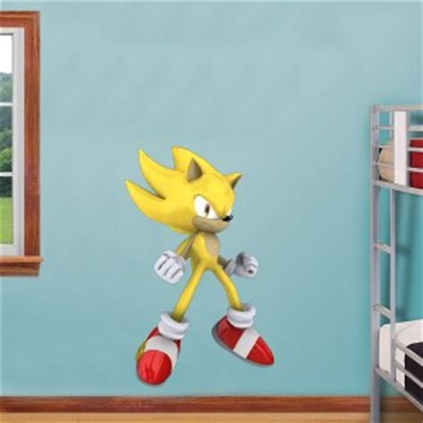 sonic wall stickers choose size sonic hedgehog decal removable wall sticker home decor ebay