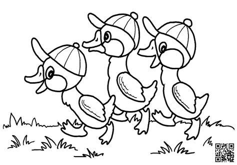 dibujos infantiles org dibujos de patos para colorear para ni 241 os