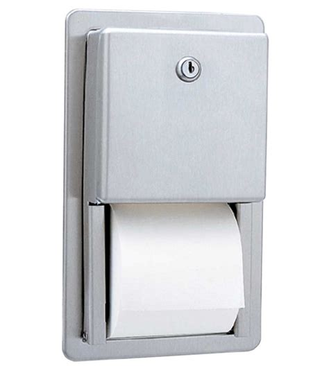 Dispenser Tissue bobrick b 3888 multi roll toilet tissue dispenser
