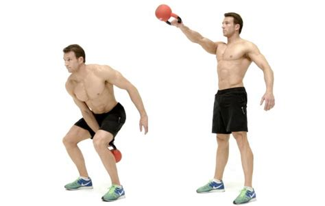 Swing Kettlebell by 15 Best Proven Exercises To Lose Weight Fast In 2018