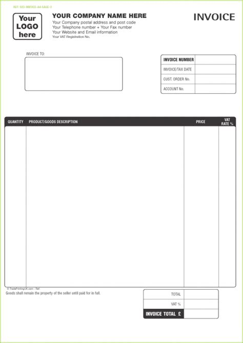 Free Online Printable Invoice Template Hardhost Info Free Invoice Form Template