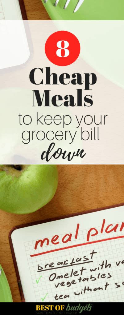 cheap meals    grocery bill    budgets
