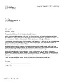 notice to vacate letter to tenant template landlord letter to tenant to vacate property uk letters