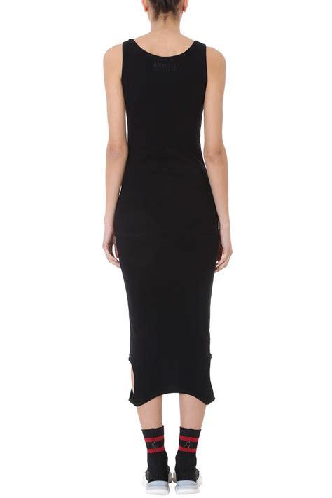 vetements vetements tank top dress black s dresses italist