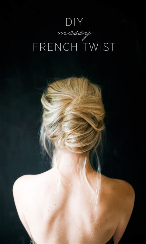 how to do french twist hairstyle messy french twist tutorial once wed