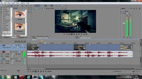 tutorial sony vegas pro 10 tutorial how to get distortion sound sony vegas pro 10