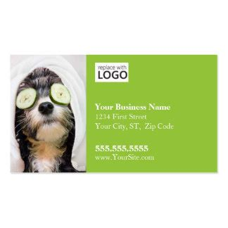 pet grooming business cards templates grooming business cards templates zazzle