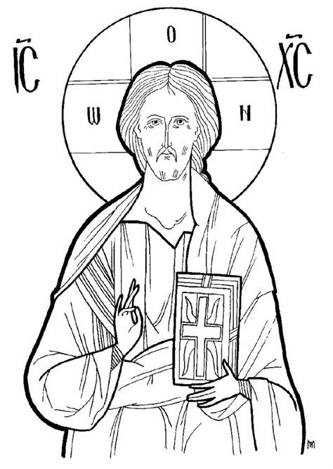 nativity icon coloring page 15 byzantine icons religious coloring pages images