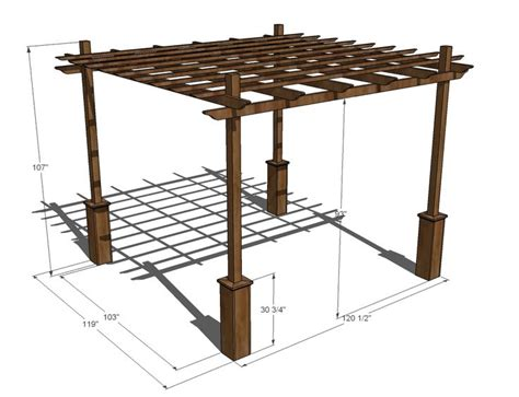Pergola Plans Free Designs Woodworking Projects Plans Pergola Plans Free