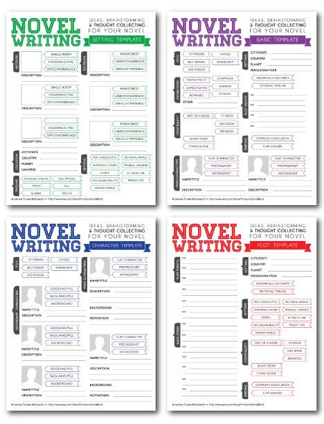 Novel Writing Templates V2 Novels Template And Writer Book Writing Template