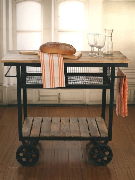 kitchen island trolley best 25 rolling kitchen island ideas on