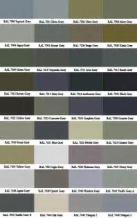 ral color chart ral colour chart warwick glass