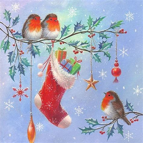 christmas welcome birds 1000 id 233 es sur le th 232 me no 235 l vintage sur vœux de no 235 l no 235 l et cartes de vœux vintage