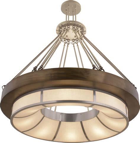 Drop Ceiling Light Fixtures Meyda 158295 Pewter X Chrome A C Drop Ceiling Light Fixture Mey 158295