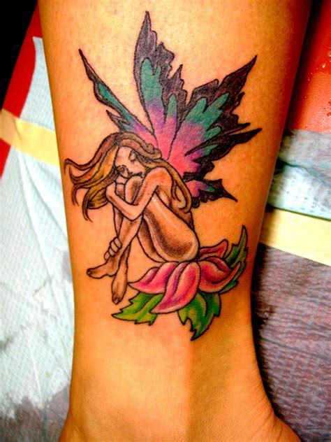 fairy design tattoo tattoos designs ideas and meaning tattoos for you