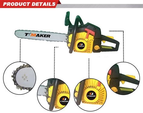 58cc Various Size Small Gas Chainsaw 5802 Buy Chainsaw