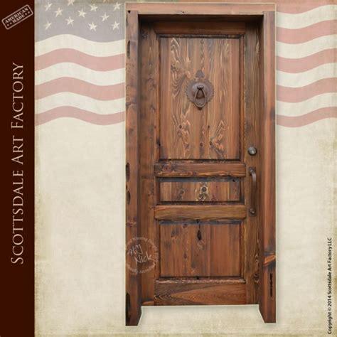 Handmade Wooden Doors - custom wood entry door traditional style exterior doors
