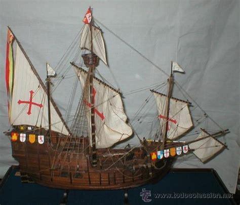 fotos de cristobal colon y sus barcos replicas artesanales a escala de las tres carab comprar